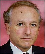 Lord Greville Janner, chairman of the Holocaust Educational Trust