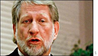 WorldCom founder and former CEO Bernie Ebbers