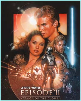 A Star Wars movie wouldn't be a Star Wars movie without a poster which tries to cram everything in