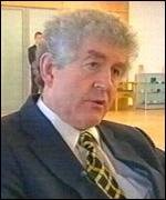 First Minister Rhodri Morgan: