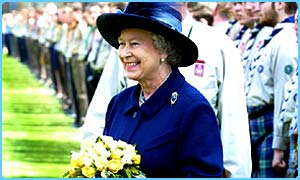 The Queen starts her Jubilee tour