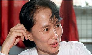 Aung San Suu Kyi, May 1999