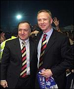 Dick Advocaat (left) and Alex McLeish