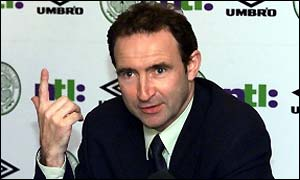 Martin O'Neill has taken Celtic back to the top