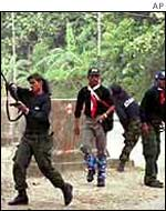 Indonesian-backed militias on the rampage in 1999