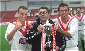 Airdrie were Challenge Cup winners this season