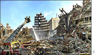 World Trade Center remains