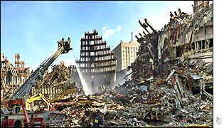 World Trade Center remains