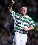 John Hartson scored a fine opener before his red card