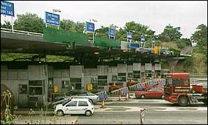 Severn Bridge toll booths