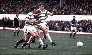 Celtic prevailed in the 1977 Cup final