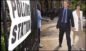 blair voting