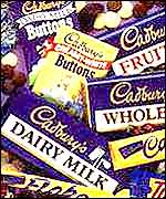 assorted brands of chocolate