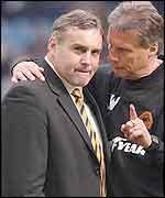 Wolves manager Dave Jones