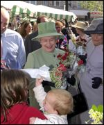 The Queen in Taunton