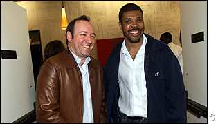Kevin Spacey and ER actor  Eriq LaSalle