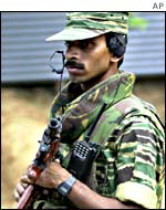 Tamil Tiger rebel