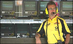 Team owner Eddie Jordan