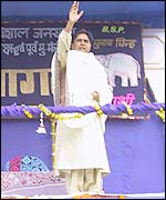 Mayawati, the new UP chief minister