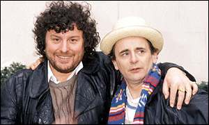 John Nathan-Turner and Sylvester McCoy