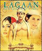 Poster for the movie Lagaan