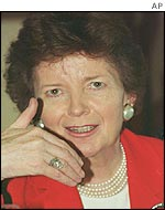 United Nations Human Rights Commissioner Mary Robinson