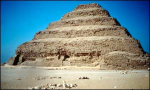Stepped Pryamids at Saqqara, Egypt
