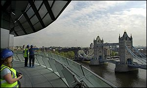 View over Tower Bridge