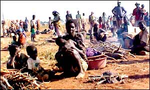 Angola's displaced people
