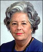 Former Commons Speaker Betty Boothroyd