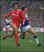 Former Liverpool defender Mark Lawrenson