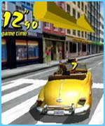A scene from Crazy Taxi
