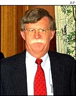 US Under Secretary of State John Bolton