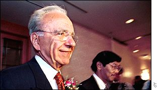 Rupert Murdoch, chairman of News International