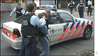 An arrest is made after the shooting of Pim Fortuyn