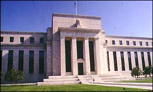The US Federal Reserve building, Washington