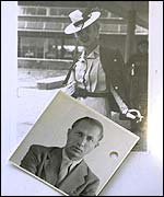 Photo of Agent Tricycle with photo of woman