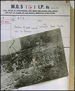 File of Edith Cavell