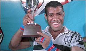 Waisale Serevi, the Fijian playmaker