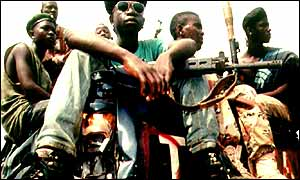 Liberia's child fighters have participated in many other wars in the past