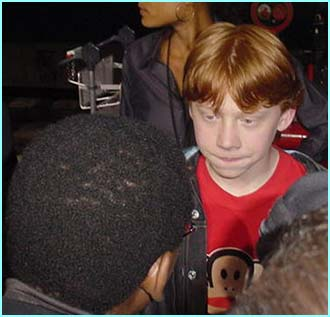 Message board regular Permless boy, also known as Rupert Grint, chats with his old mate Lizo