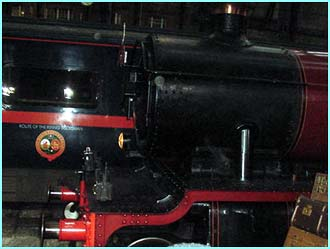 What Harry Potter event would be complete without the Hogwarts Express?