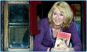 J.K. Rowling - die Autorin von Harry Potter