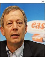 Easyjet chief executive Ray Webster