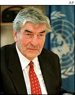 UNHCR chief Ruud Lubbers