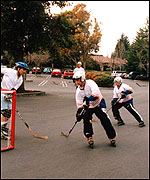 Car park hockey