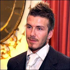 smart David Beckham causes ...