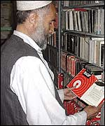 Mohammad Siddiq 'Mr Computer' in tape library