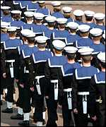 members of the Royal Navy