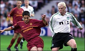 Motherwell in action against Celtic
